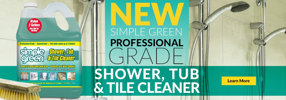 Pro Grade Shower, Tub, and Tile Cleaner