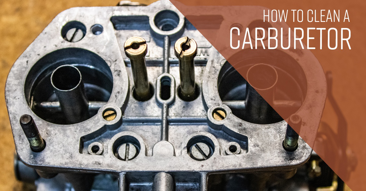 How To Clean Carburetor >> How To Clean A Carburetor Simple Green