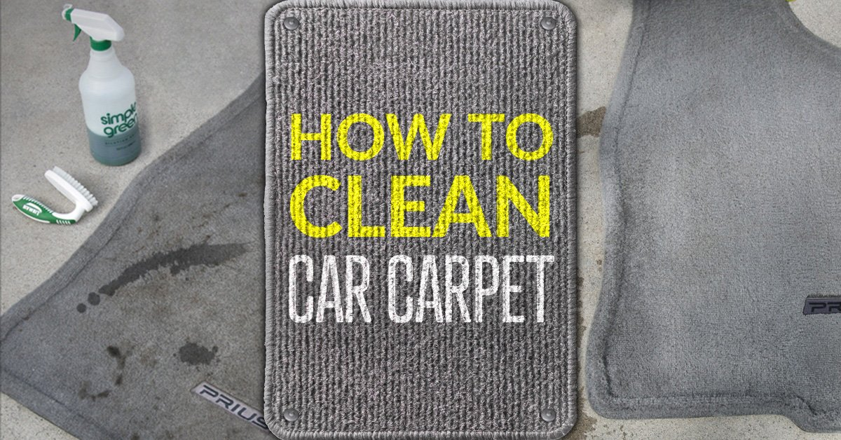 How To Clean Car Carpet Simple Green