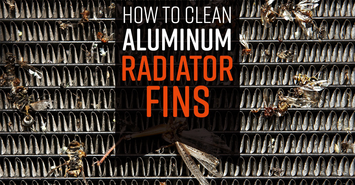 How to Clean Radiator Fins - Simple Green