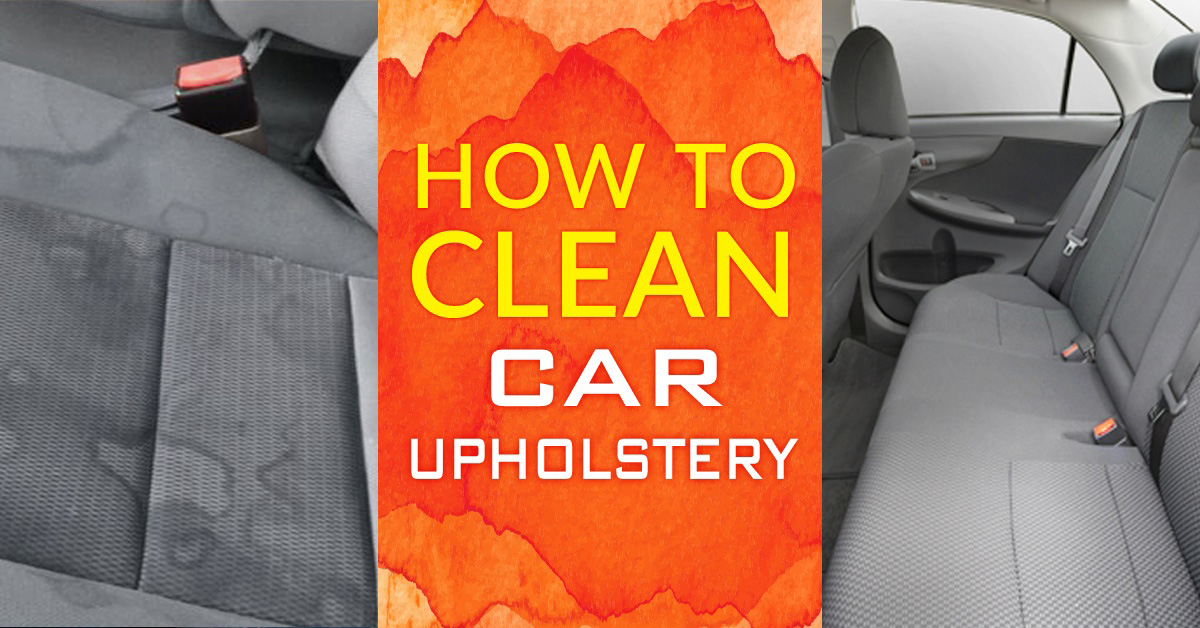 How to clean cloth car seats simple green - Best car interior cleaner for cloth seats ...