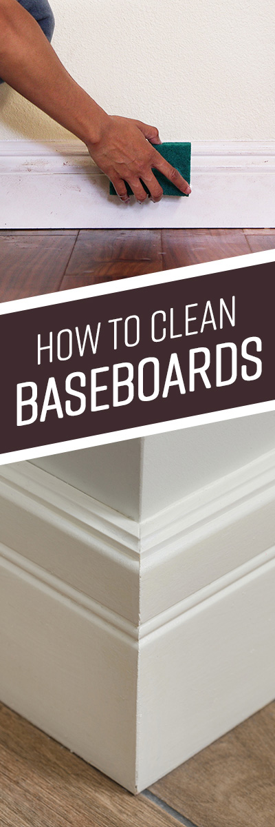 How to Clean Bathroom Baseboards