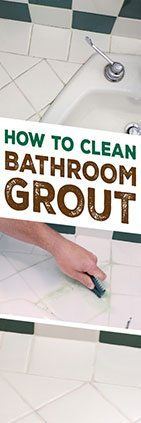 How To Clean Bathroom Tile Grout Simple Green
