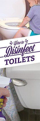 How to Disinfect a Toilet