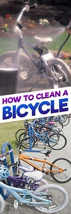 How to clean bicycles