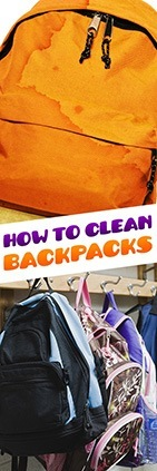How to clean backpack