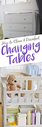 How to Disinfect a Changing Table