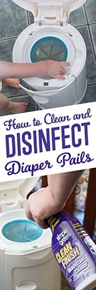 How to Disinfect Diaper Pails