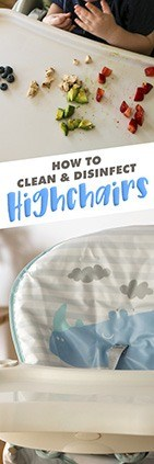 How to Disinfect a High Chair