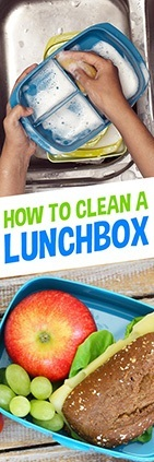 How to clean lunchbox