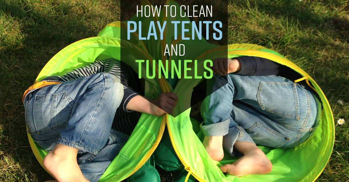 & How to Clean Play Tents and Tunnels - Simple Green