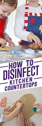 How to Disinfect Kitchen Countertops