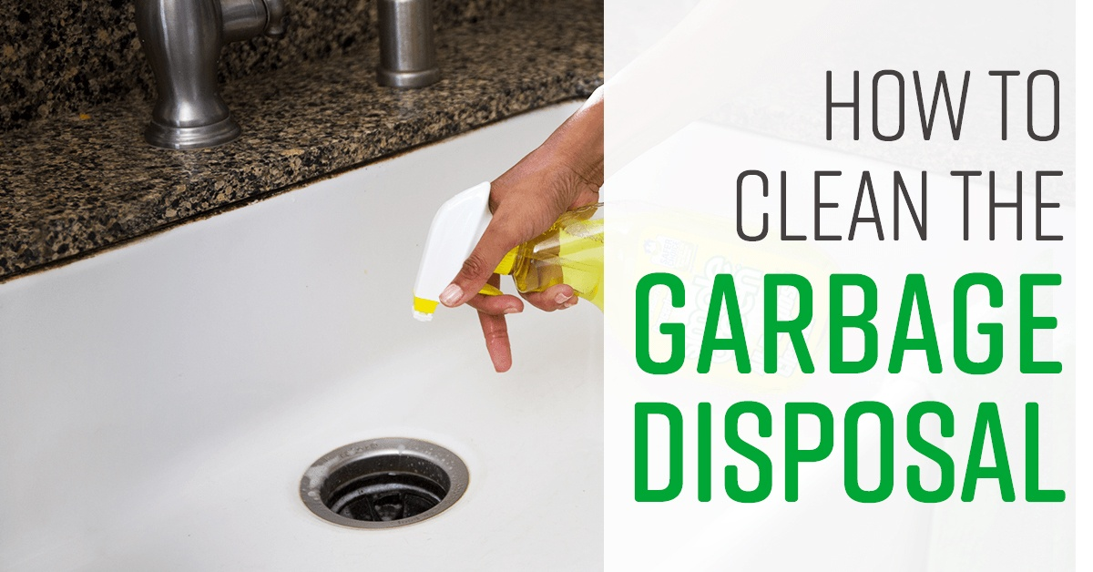 How To Clean Garbage Disposal Simple Green