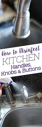 How to Disinfect Kitchen Handles