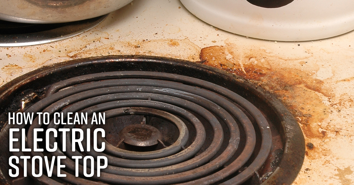How To Clean Electric Stove Top Simple Green