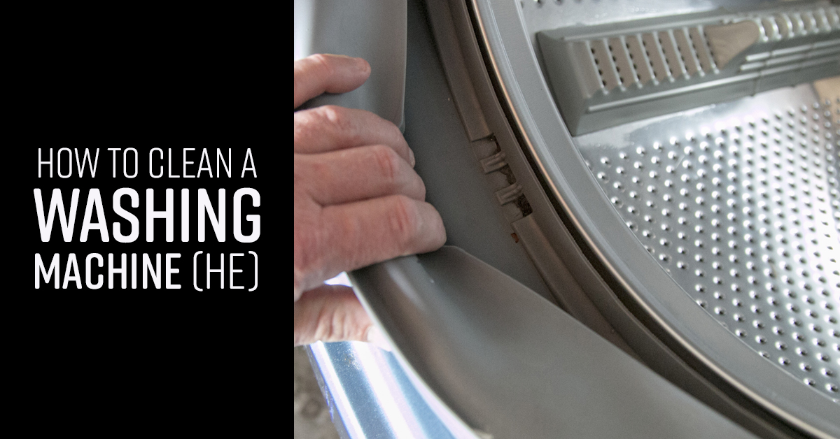 How To Clean A Washing Machine He Simple Green