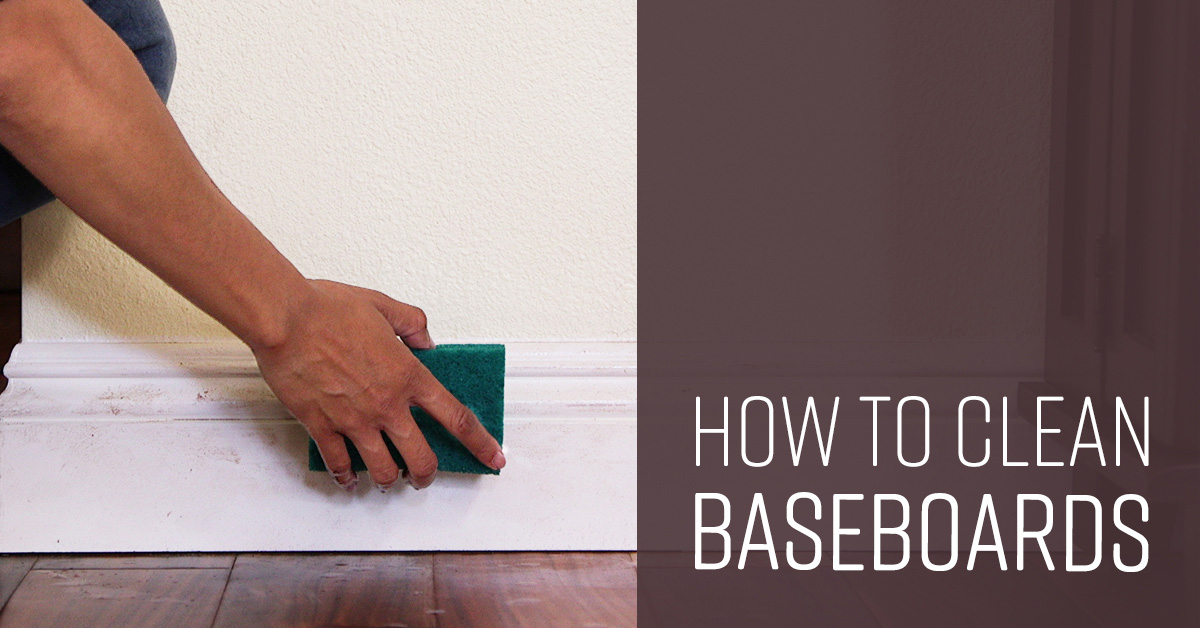 How To Clean Baseboards Simple Green
