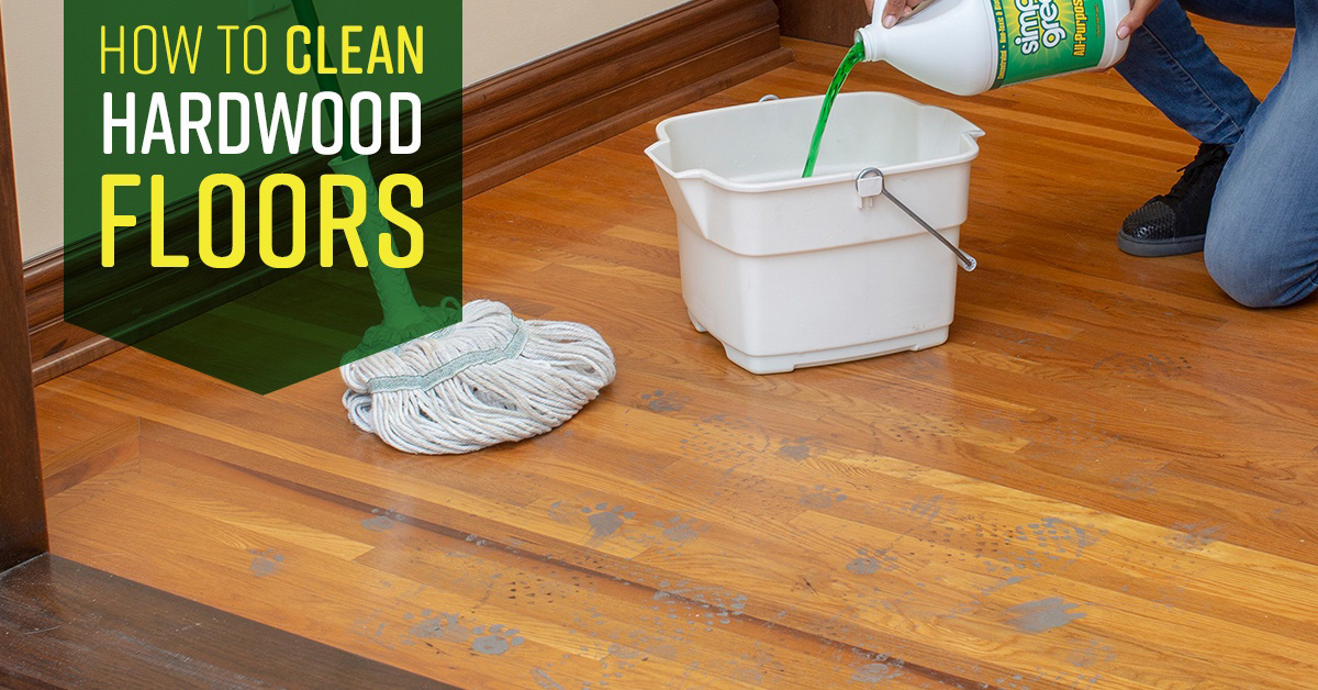 How To Clean Hardwood Floors Simple Green