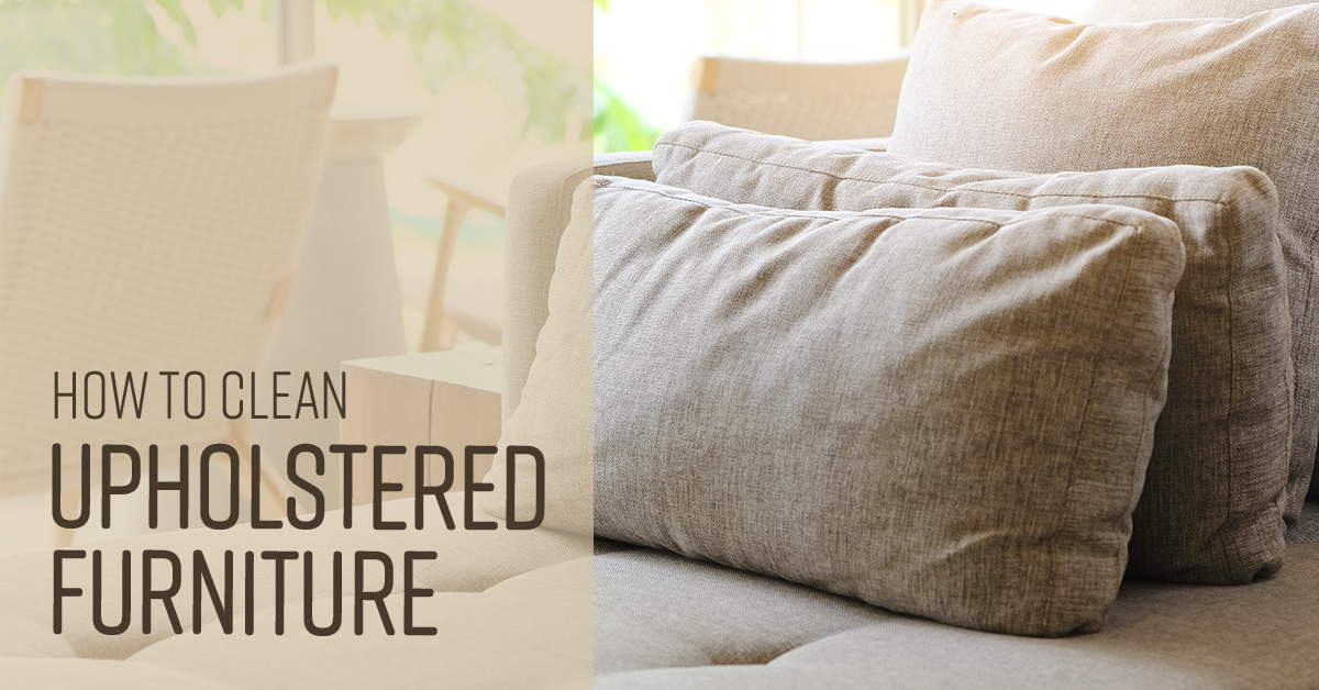How To Clean Upholstered Furniture Simple Green