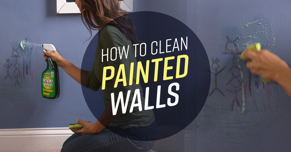 How To Clean Painted Walls Simple Green