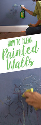 How to Clean Painted Walls