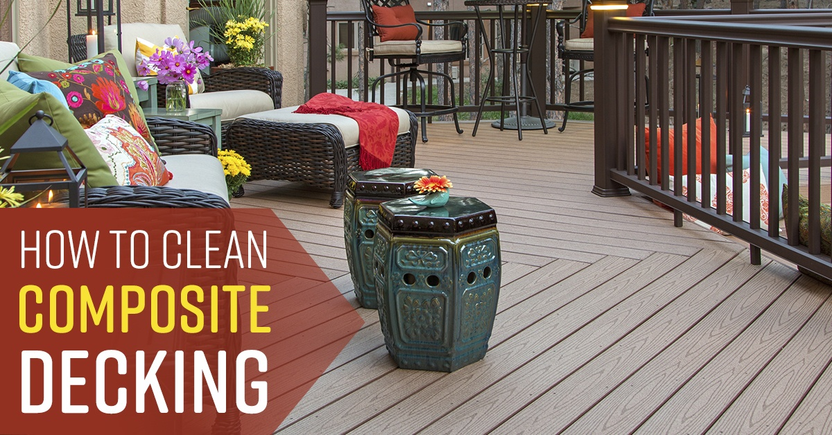 How To Clean A Composite Deck Simple