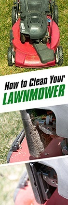How to Clean Your Lawnmower