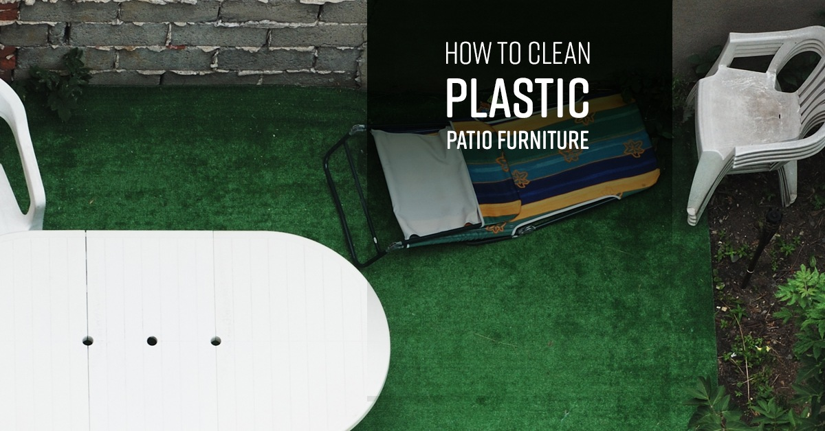 How To Clean Plastic Patio Furniture Simple Green
