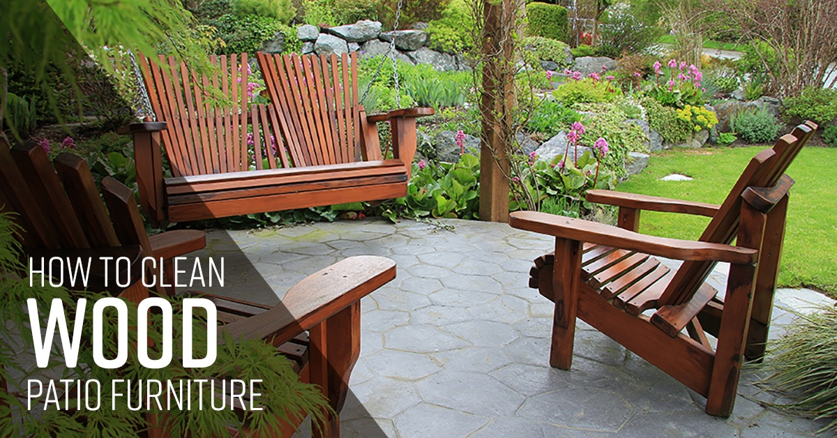 How To Clean Wood Patio Furniture Simple Green