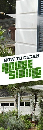How To Clean House Siding