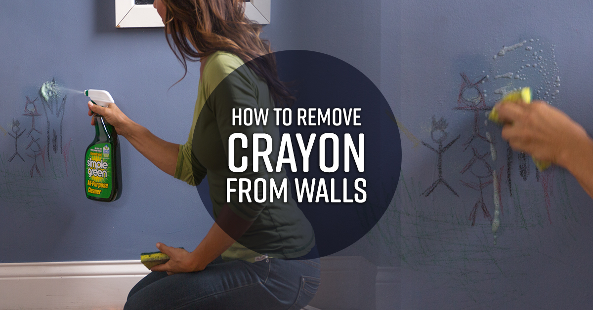 how to remove crayon from walls simple green. Black Bedroom Furniture Sets. Home Design Ideas