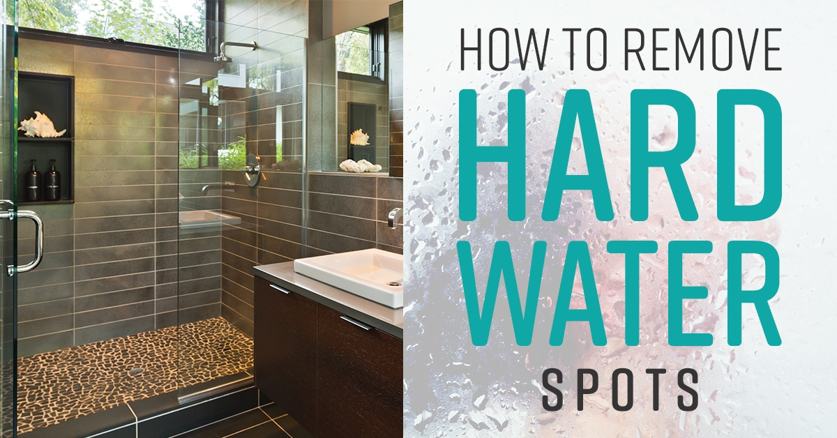 How To Remove Hard Water Spots Simple Green