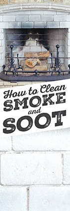How To Clean Smoke and Soot