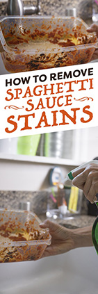 How to Remove Spaghetti Sauce Stains