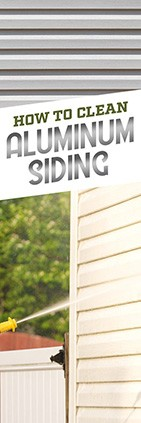 How to Clean Aluminum Siding
