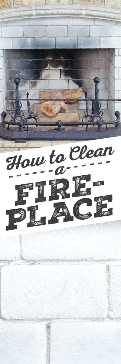 How to Clean Brick Fireplaces