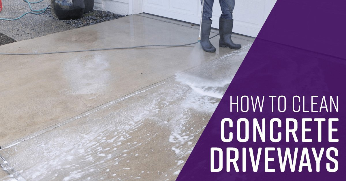 How to Clean Concrete Driveways - Simple Green