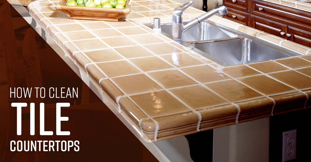 How to Clean Tile Countertops - Simple Green