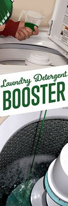 Laundry detergent enhancer booster