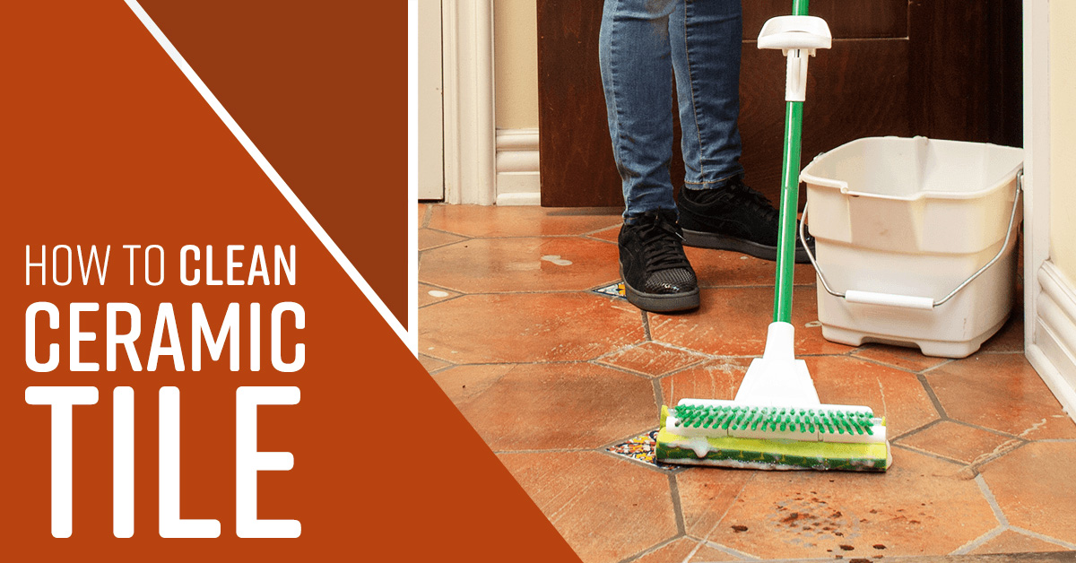 What To Clean Ceramic Tile Floor With Tcworks Org