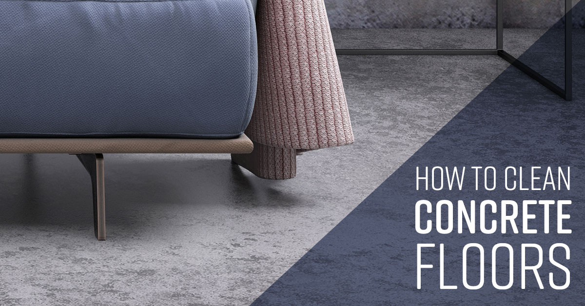 How To Clean Concrete Floors Simple Green