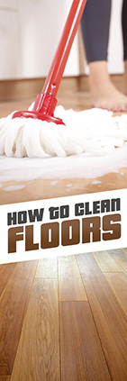 How to clean floors
