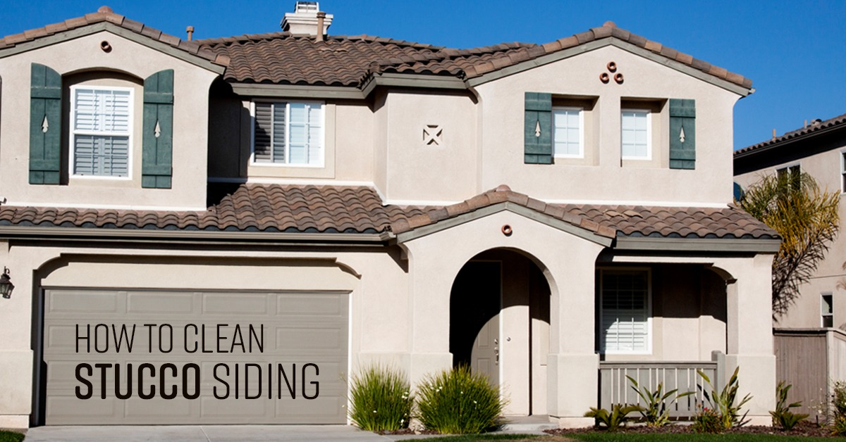 How To Clean Stucco Siding Simple Green