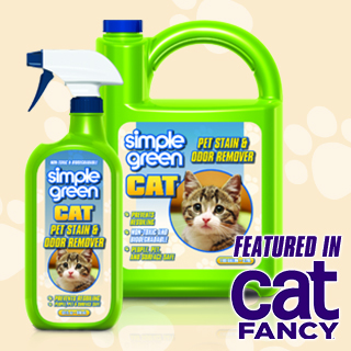 Cat Fancy Magazine: Simple Green Cat Pet Stain & Odor Remover