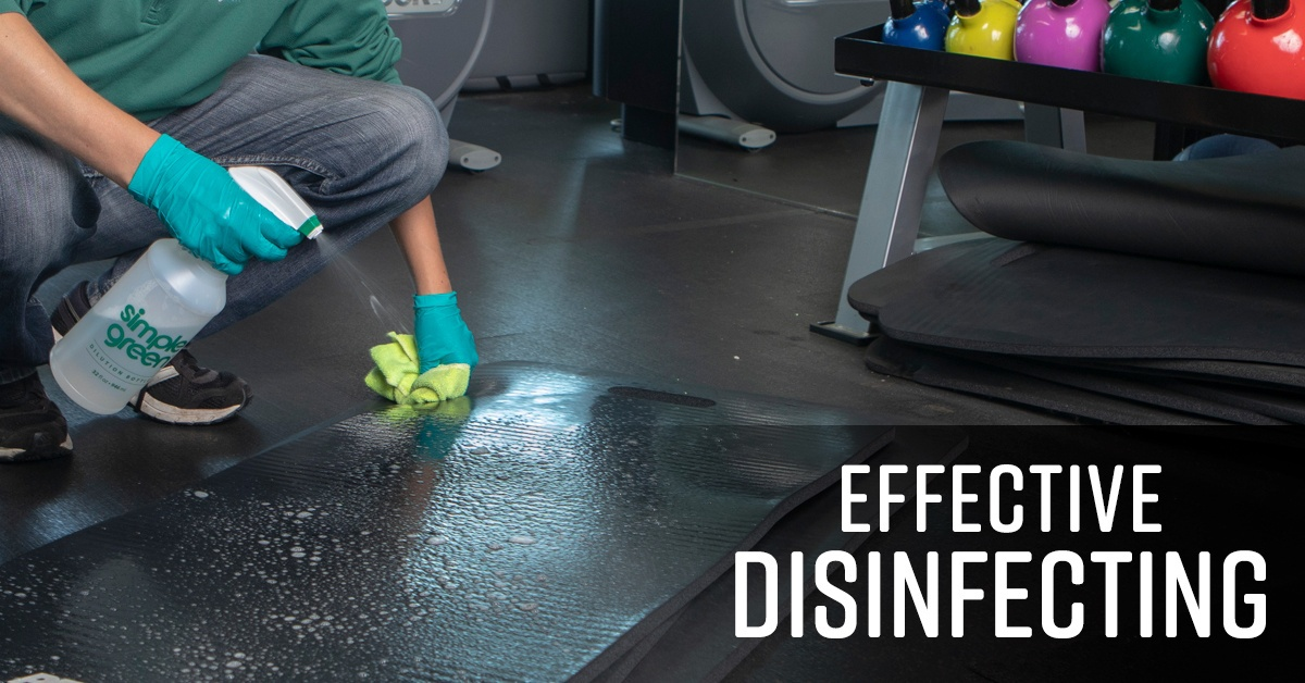 Effective Disinfecting - What You Need To Know