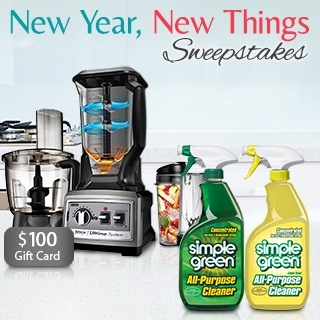 New Year, New Things Sweepstakes