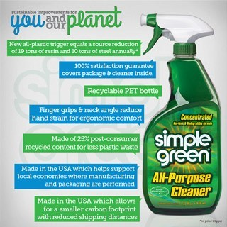 Simple Green Announces Improved Packaging Design