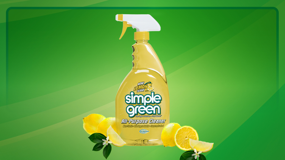 1993: Simple Green introduces a lemon scent version of its popular All-Purpose Cleaner.