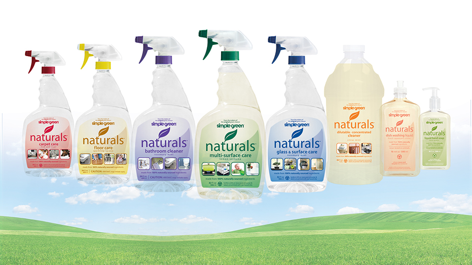 2008: Simple Green introduces its Naturals line of USDA Certified Biobased products.
