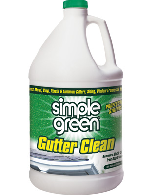 Simple Green Industrial Gutter Clean